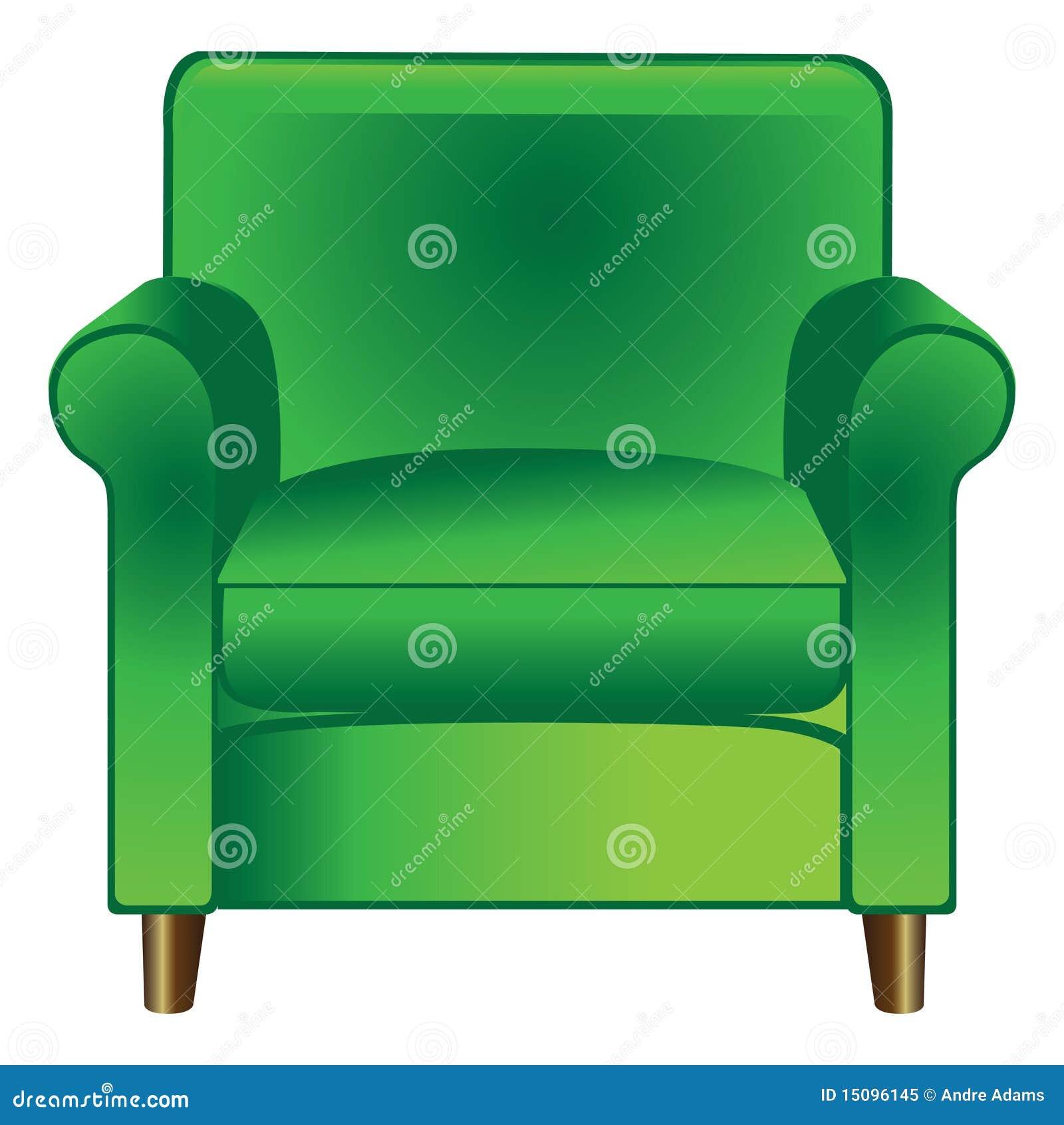 green chair clipart - photo #9
