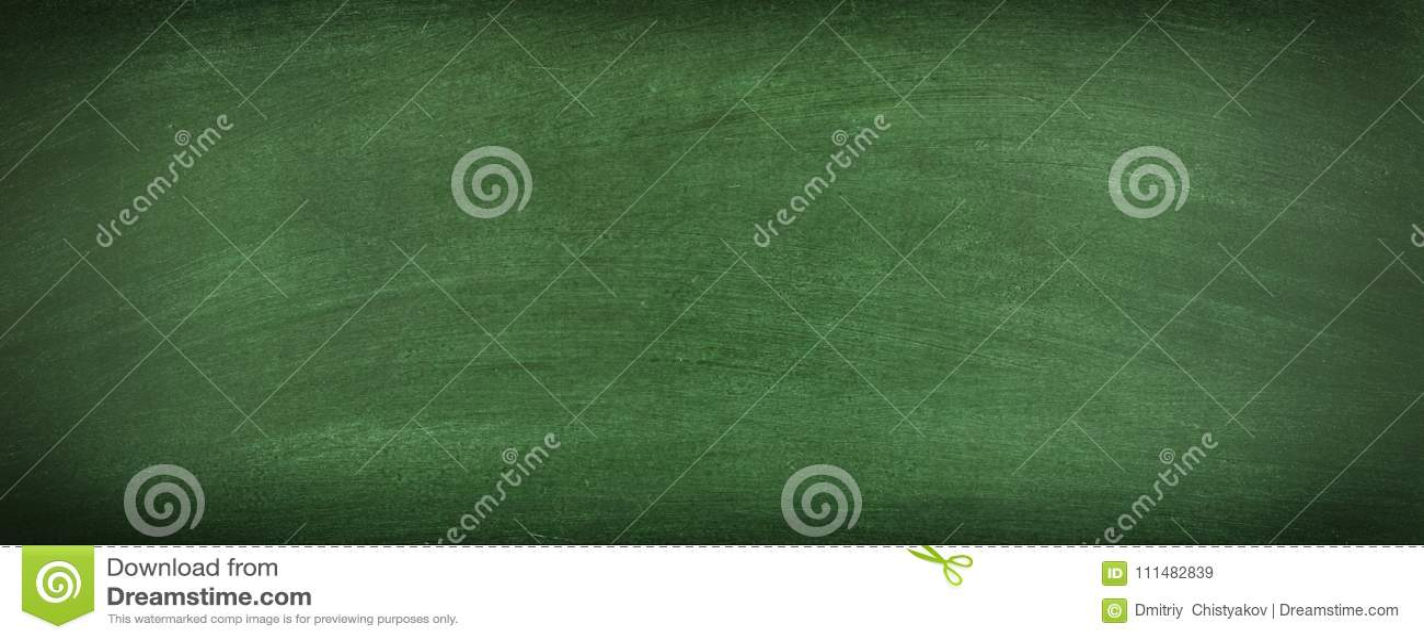green chalkboard blank background texture of a clean blackboard