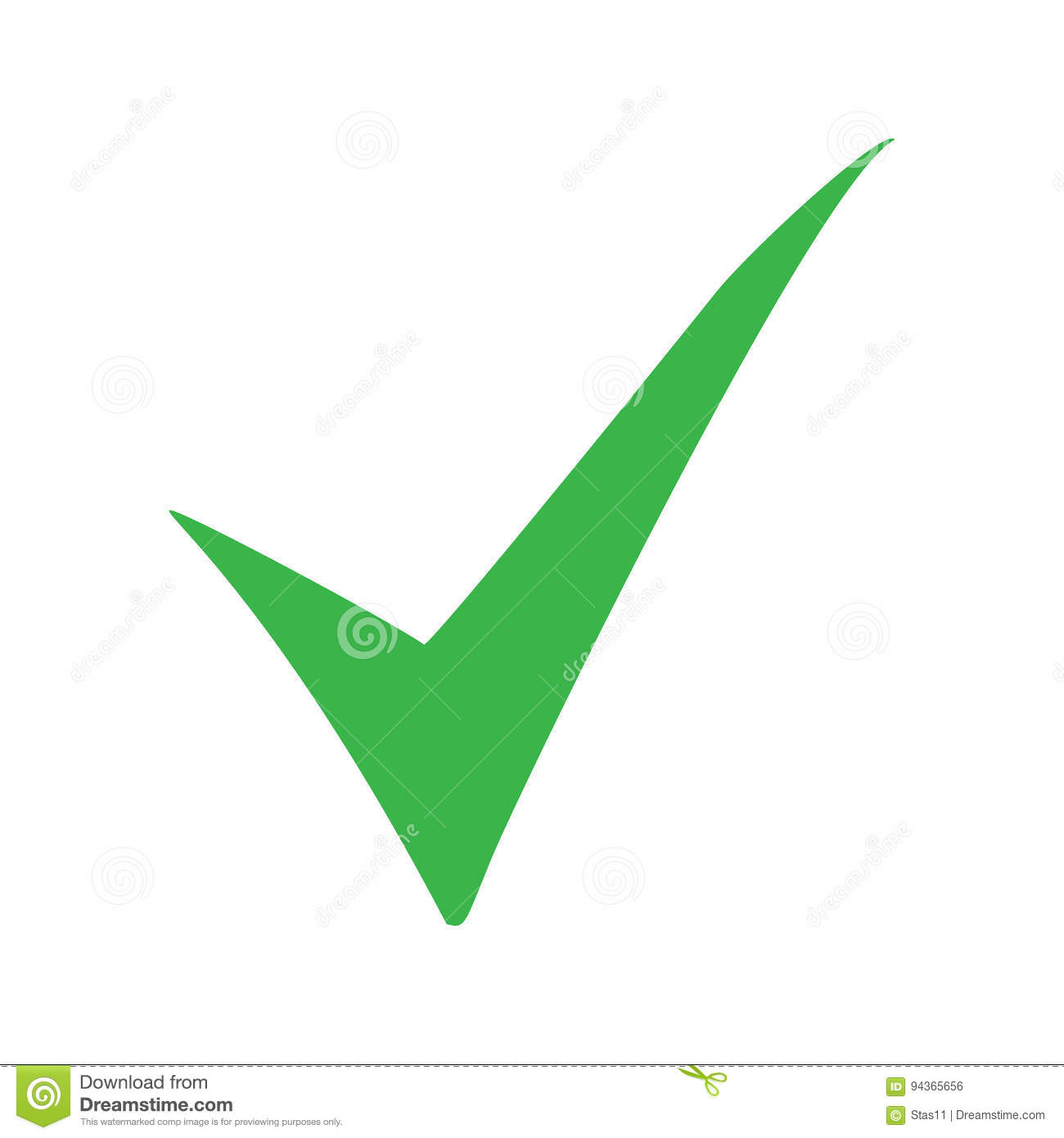 Green check mark icon tick symbol in green color vector green check mark icon tick symbol in green color vector illustration biocorpaavc Image collections