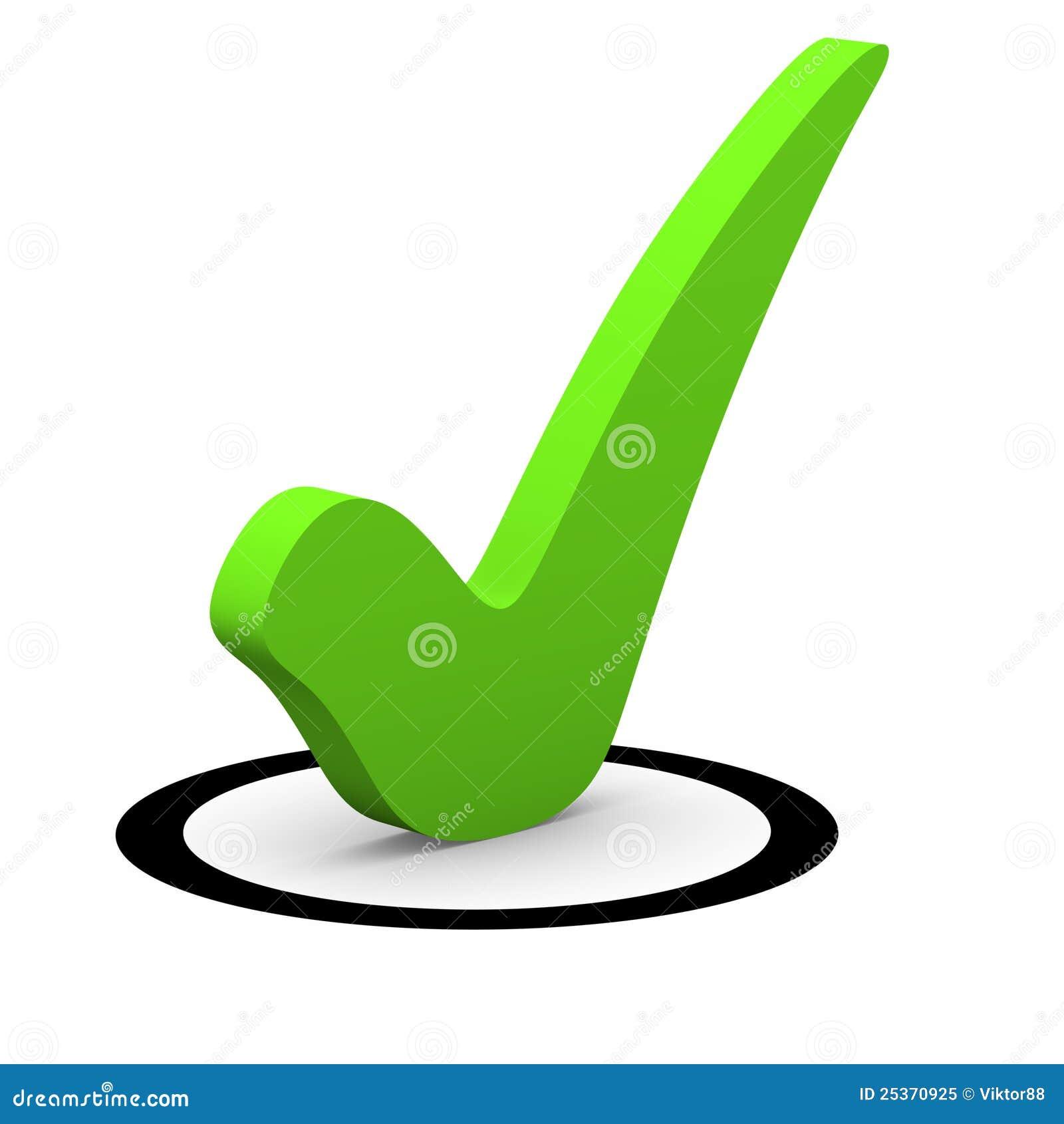 Green checkmark in round checkbox stock illustration green checkmark in round checkbox biocorpaavc Gallery