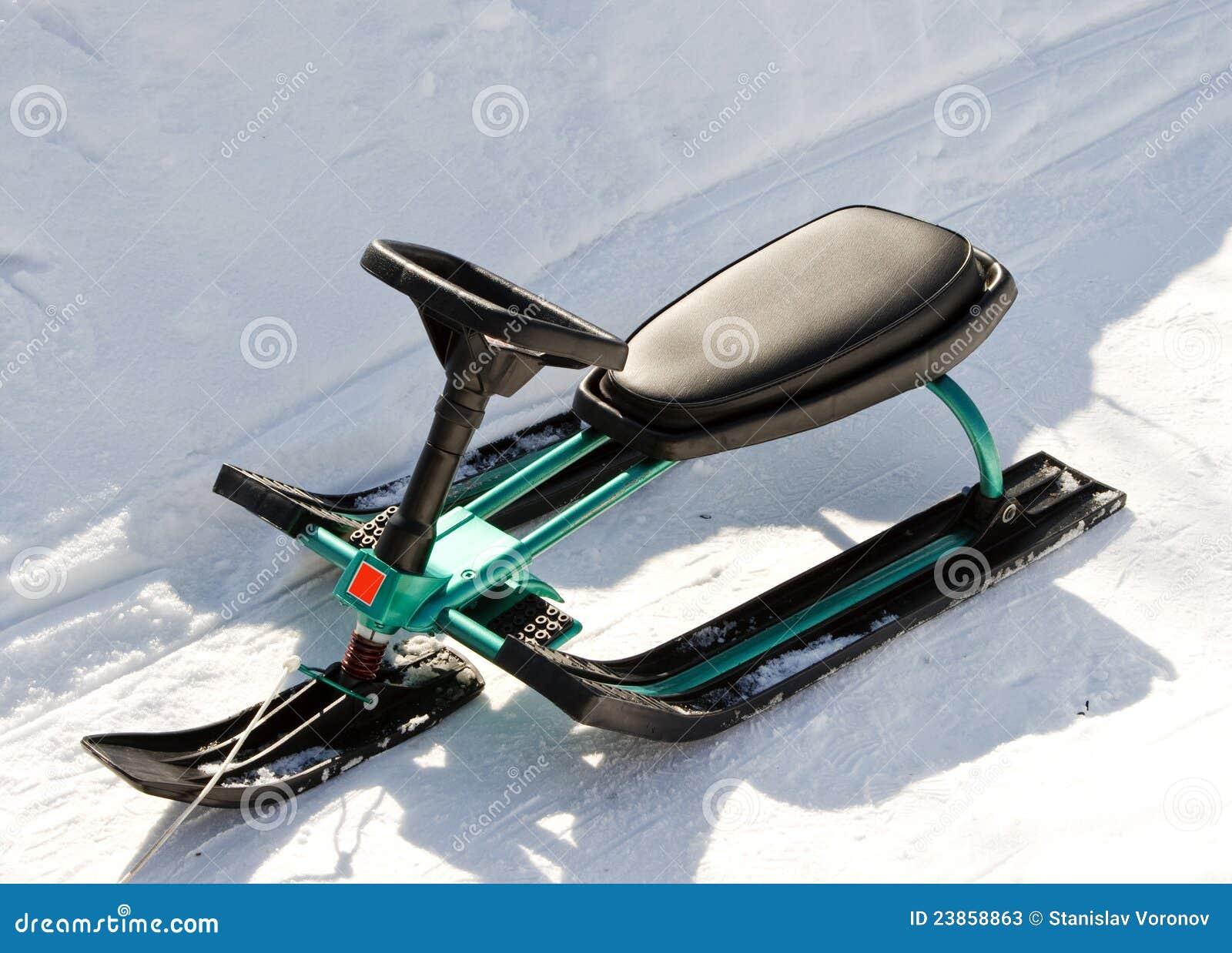 Детские санки снегоходы фото