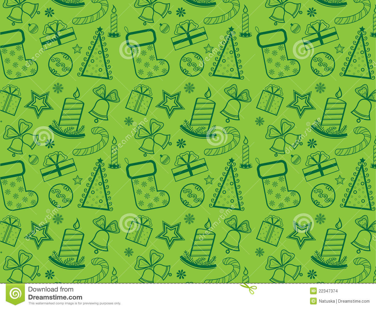 Green christmas wallpaper stock images image 22347374 for Papel de pared decorativo