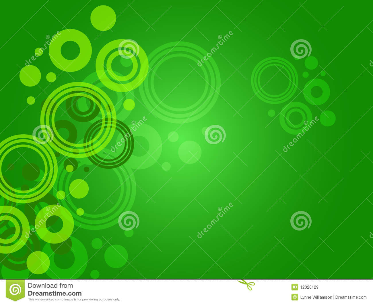 green circle background royalty free stock images