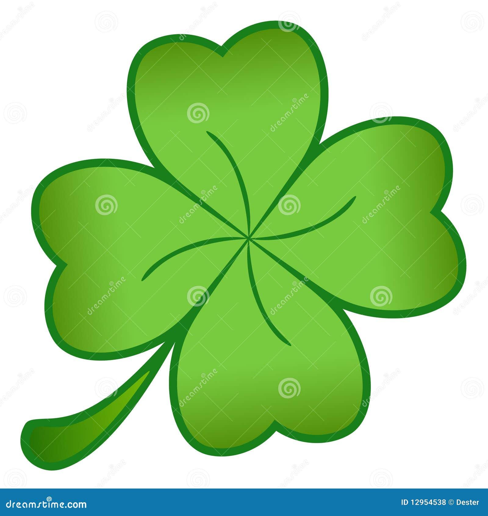 Green Cloverleaf Royalty Free Stock Photos - Image: 12954538