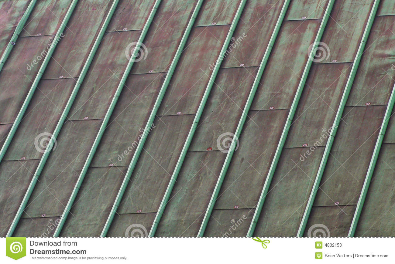 Green Copper Roof Stock Image Image Of Patina Copper