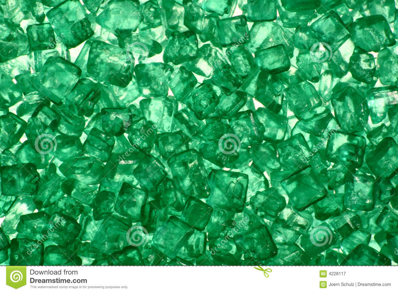Green Crystal Royalty Free Stock Photography Image 4228117
