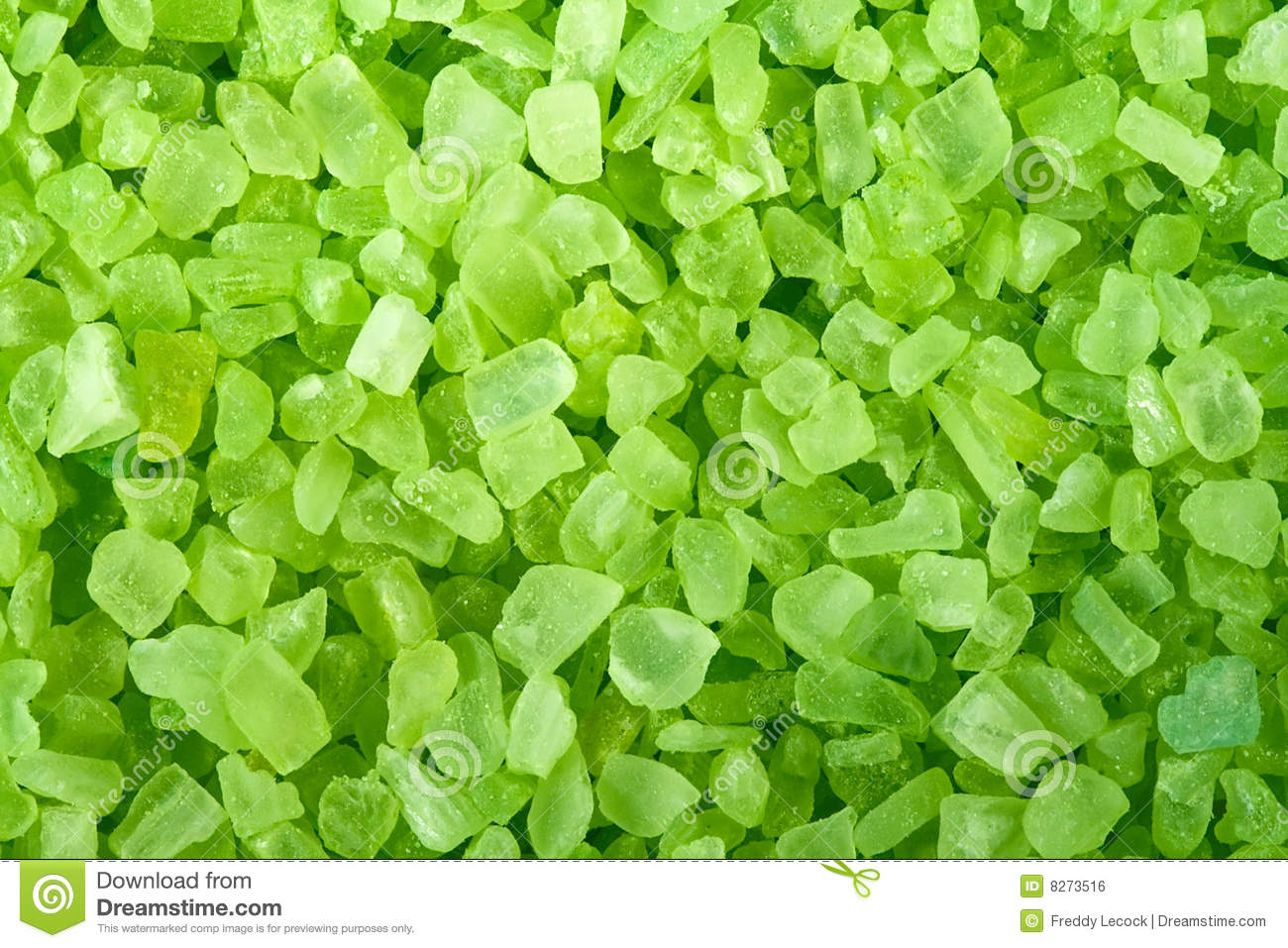 Green Crystals Stock Photo Image Of Bathing Crystals
