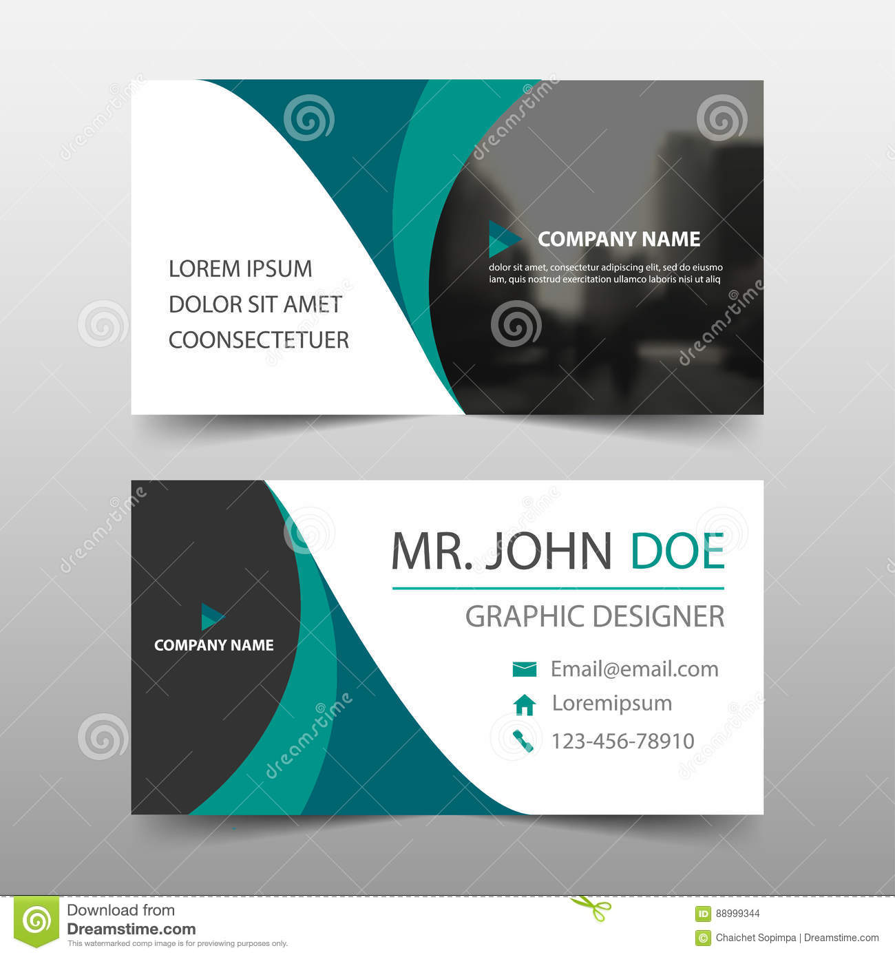 Green curve corporate business card name card template horizontal green curve corporate business card name card template horizontal simple clean layout design template business banner template for website reheart Image collections