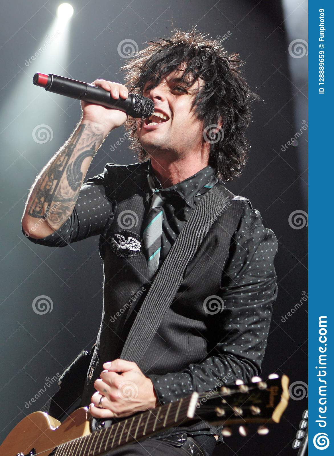 Green Day performs in concert