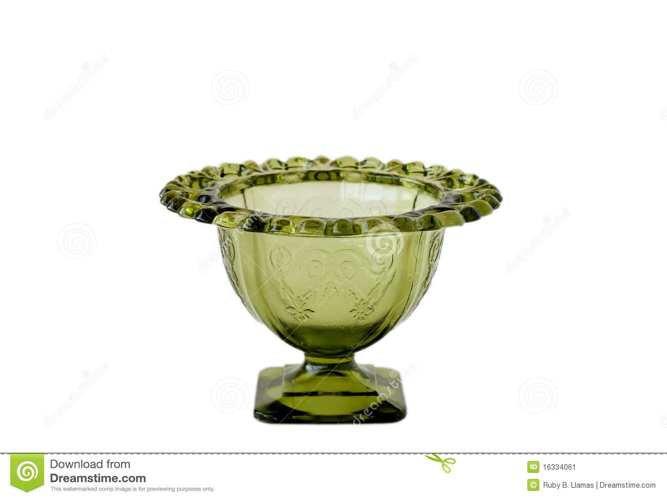 Green depression glass vase stock image image 16334061 green depression glass vase reviewsmspy