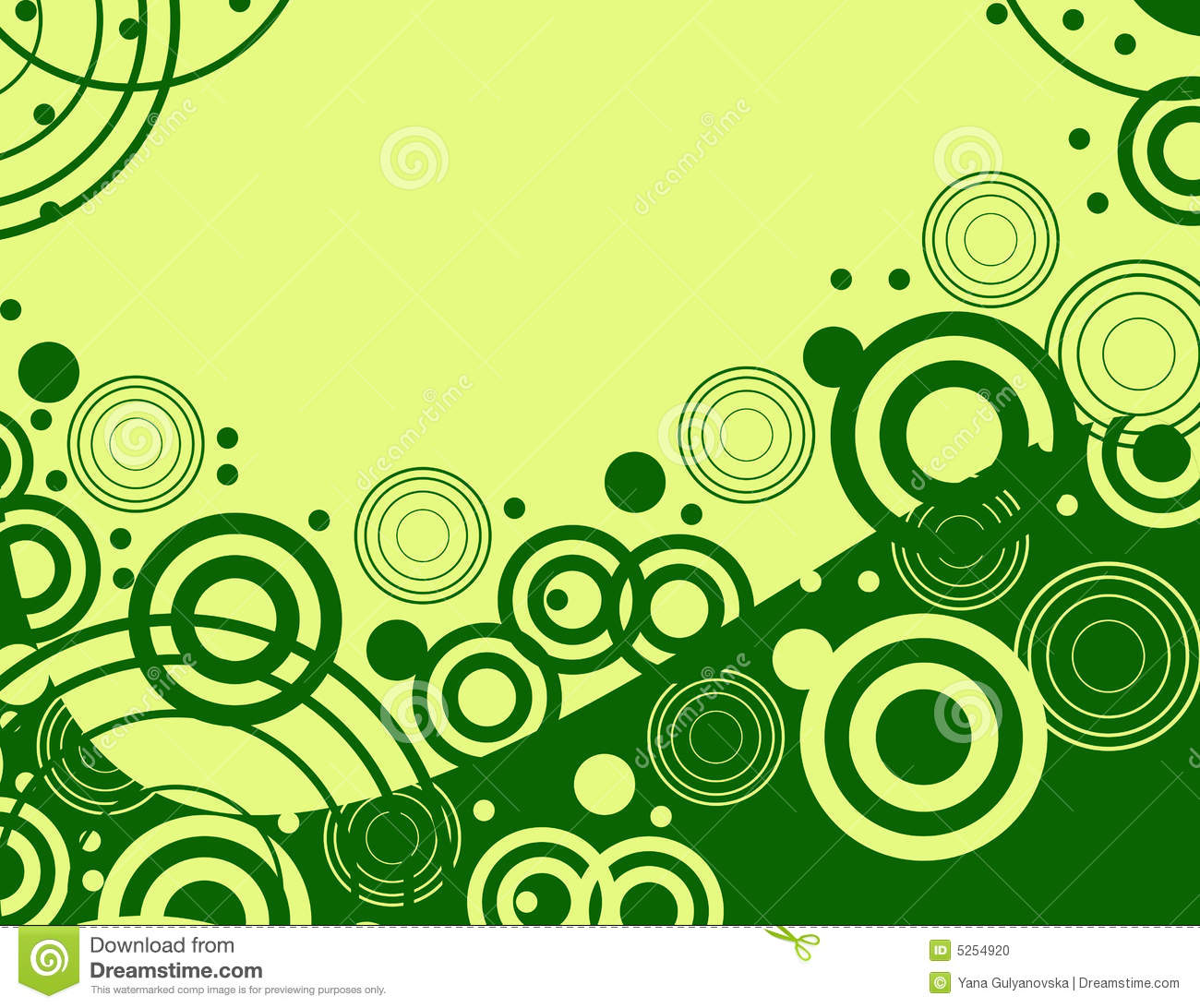 Green design retro background stock vector illustration for Green design