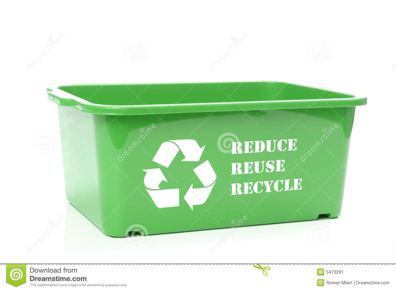 Green Disposal Container Stock Image Image Of Manufacture