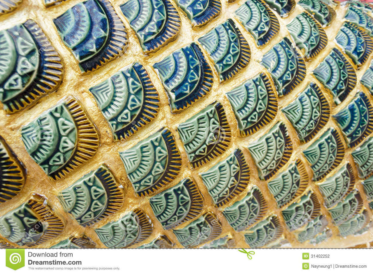 green dragon scales background texture stock photography