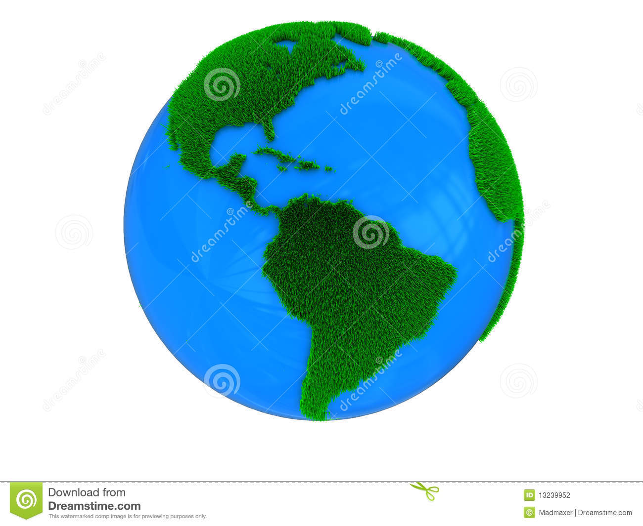Green Earth Stock Photography - Image: 13239952