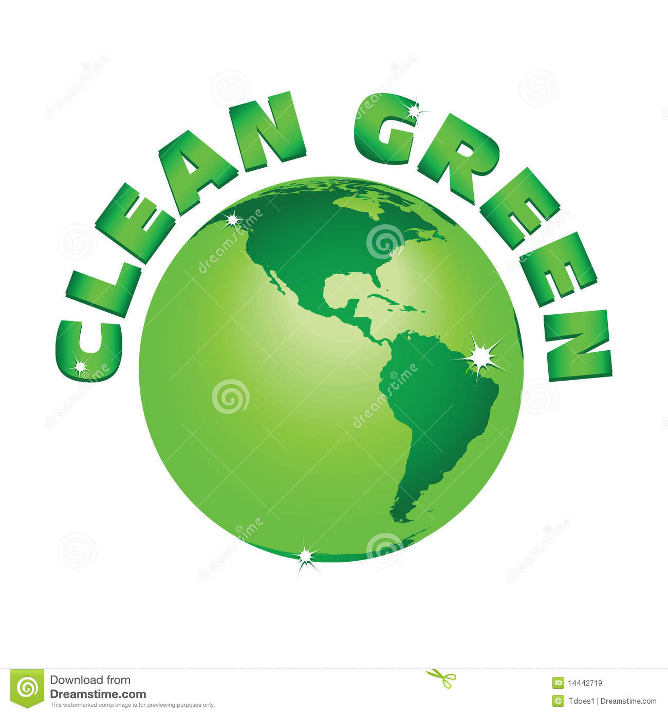 how to make earth green and clean