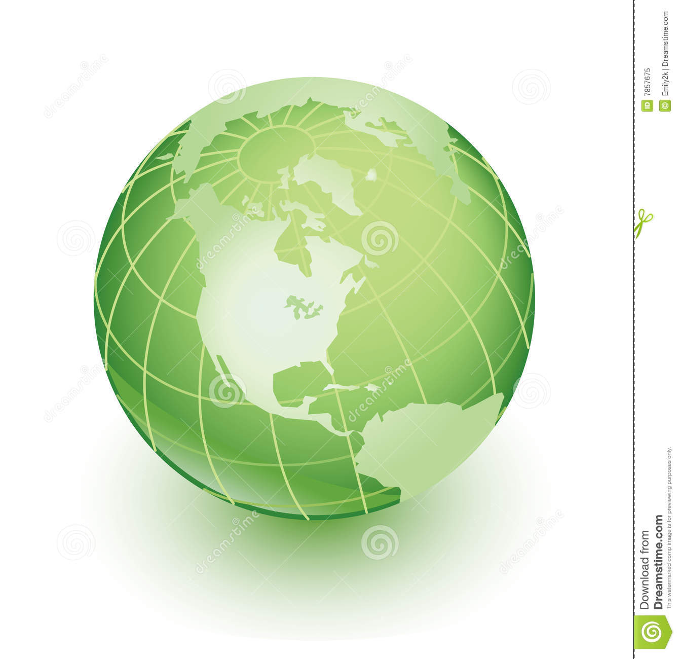 Green Earth Royalty Free Stock Photo - Image: 7857675