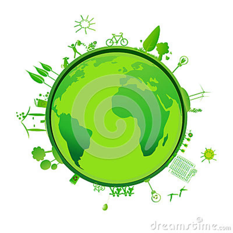 Green Earth Royalty Free Stock Photography - Image: 36081357