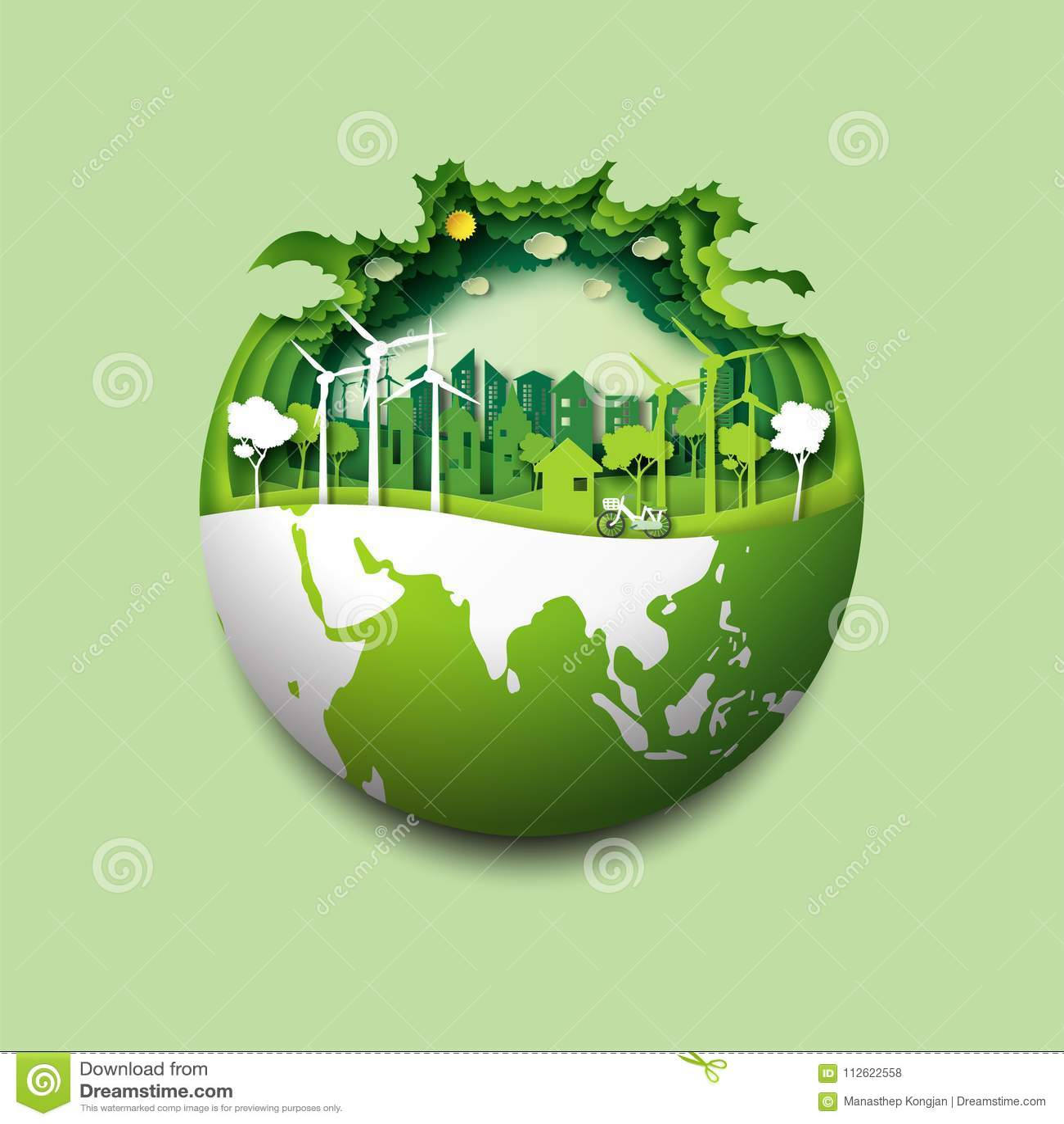 Environmental Concept Earthfriendly Landscapes