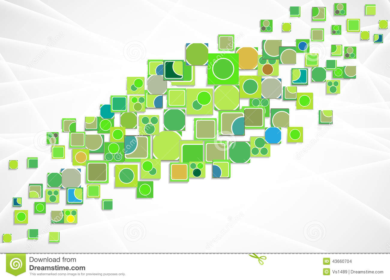 Free Vectors Vector Technology Background: Green Ecology Innovation Computer Technology Vector