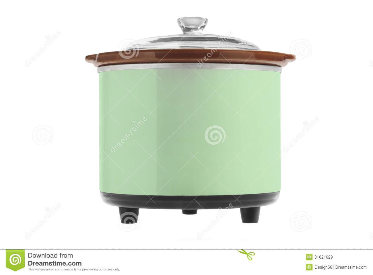 Cartoon Electric Cooker ~ Electric cooker pattern simple style cartoon vector