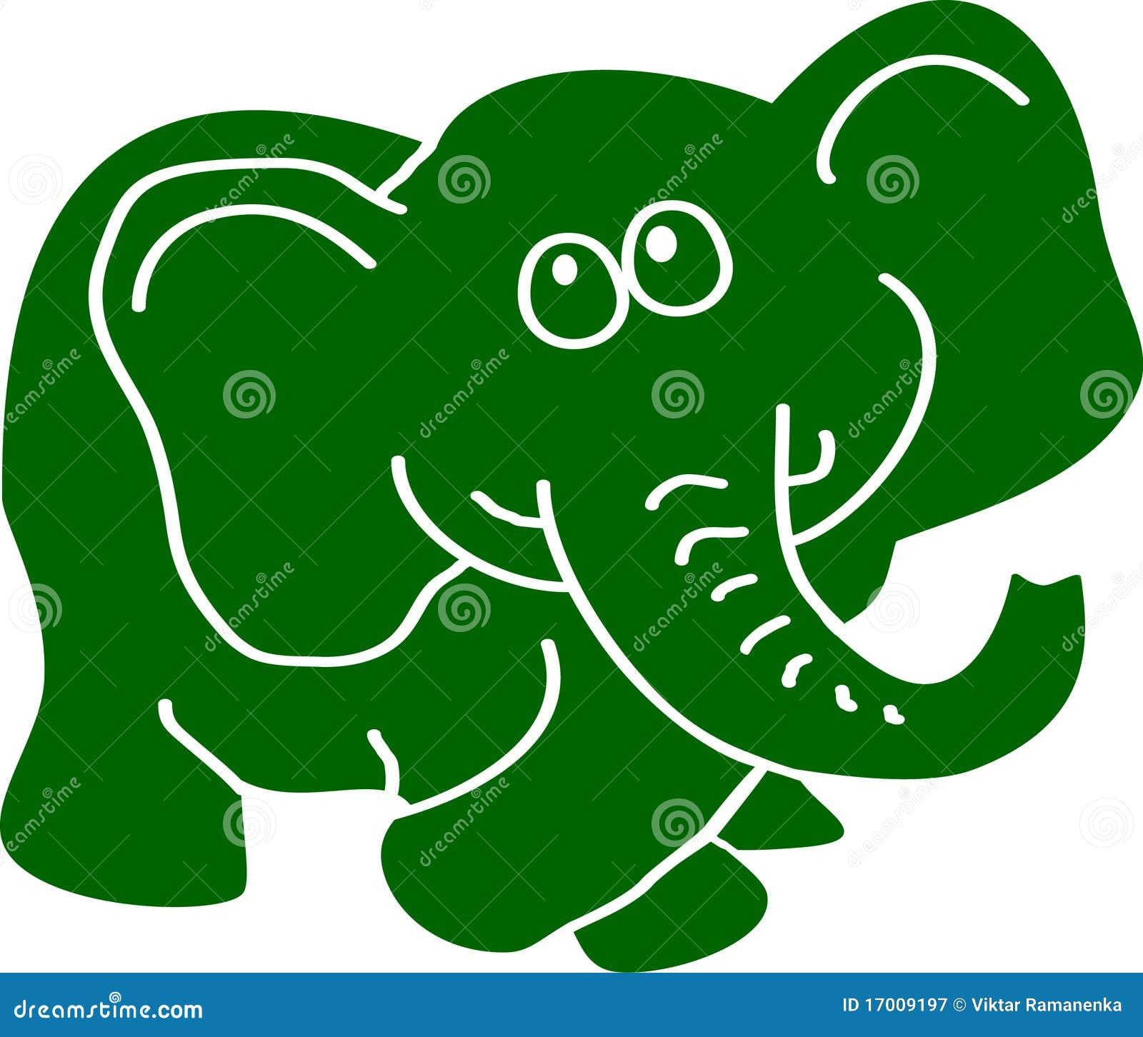dark green elephant simple illustration mr no pr no 2 894 4