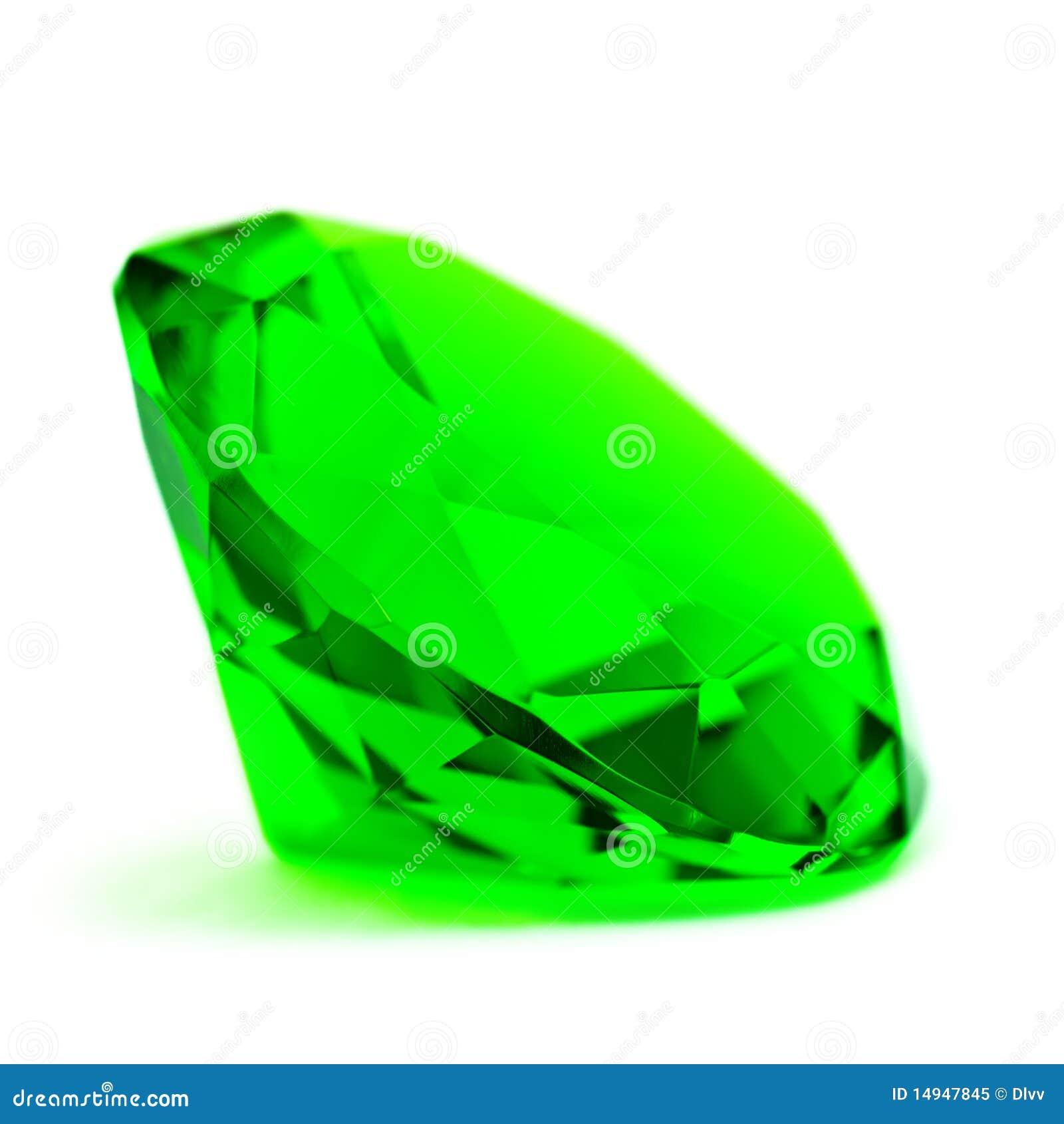 Green Emerald Gemstone Royalty Free Stock Photo Image