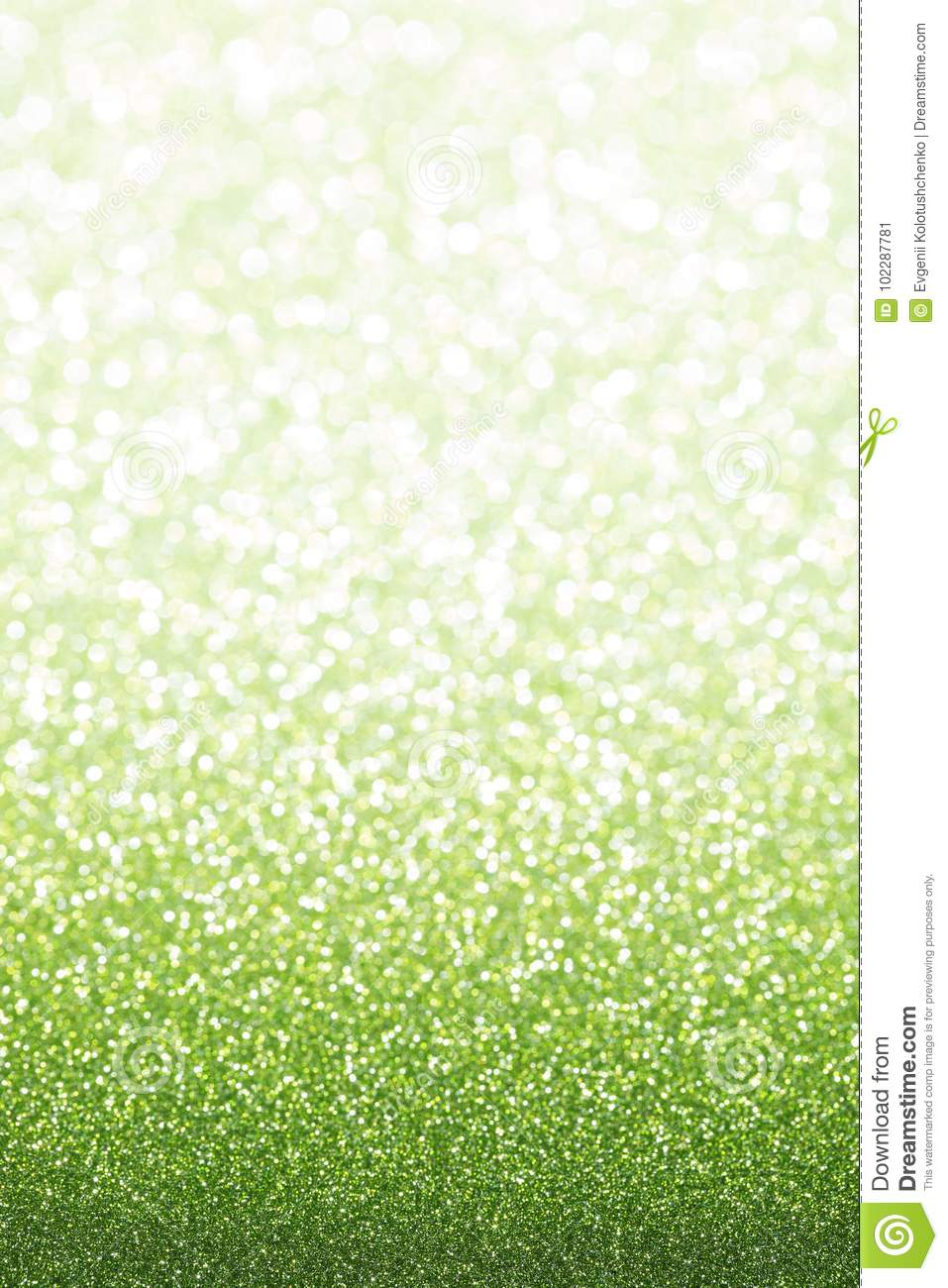Green emerald glitter background.