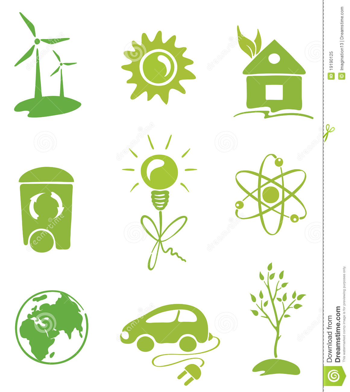 Green Energy Royalty Free Stock Photo - Image: 19190125