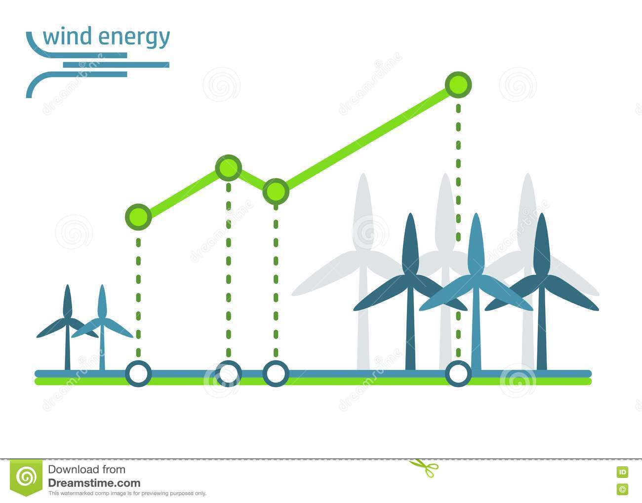 green energy diagram wind turbines stock vector illustration ofeco diagram ecology logo, green logo with solar energy, wind energy and water energy icons eco logo for infographics ecology concept