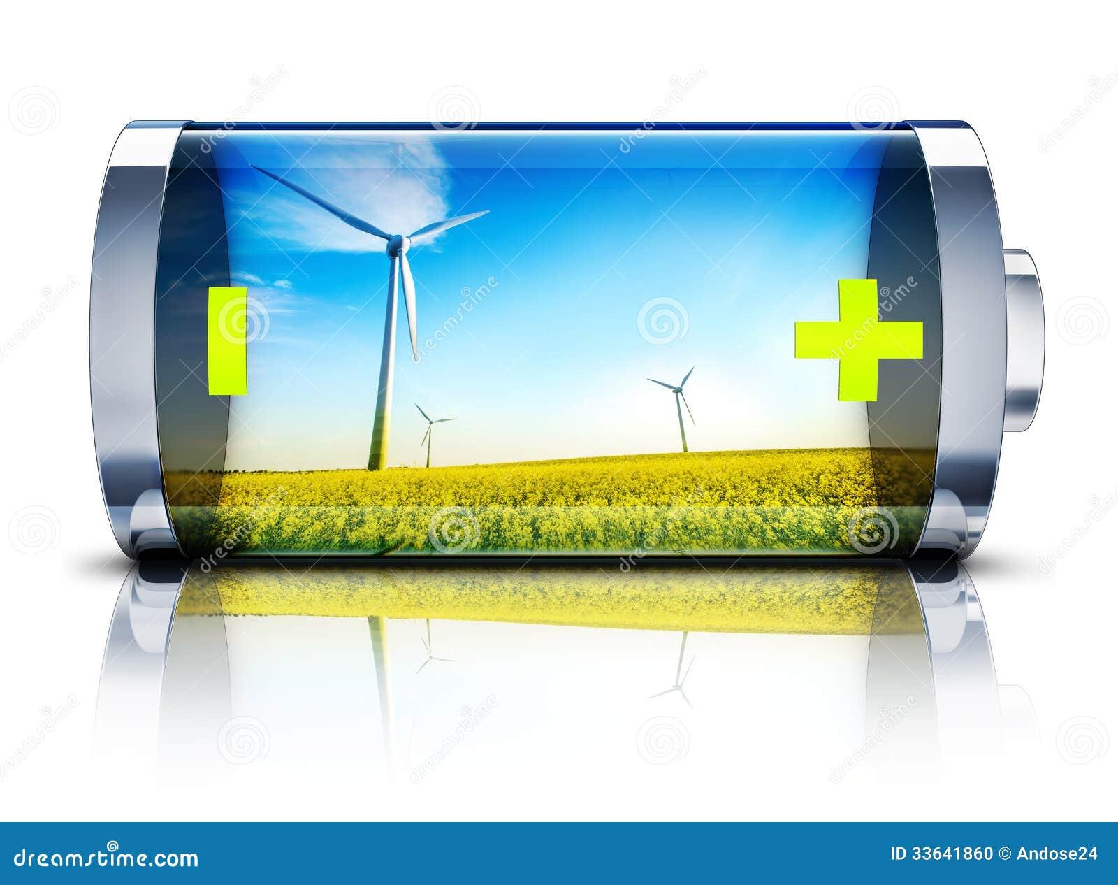 Green Energy Stock Photo Image 33641860