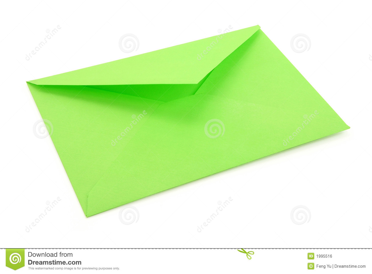 green envelope stock photo image of green business paper 1995516