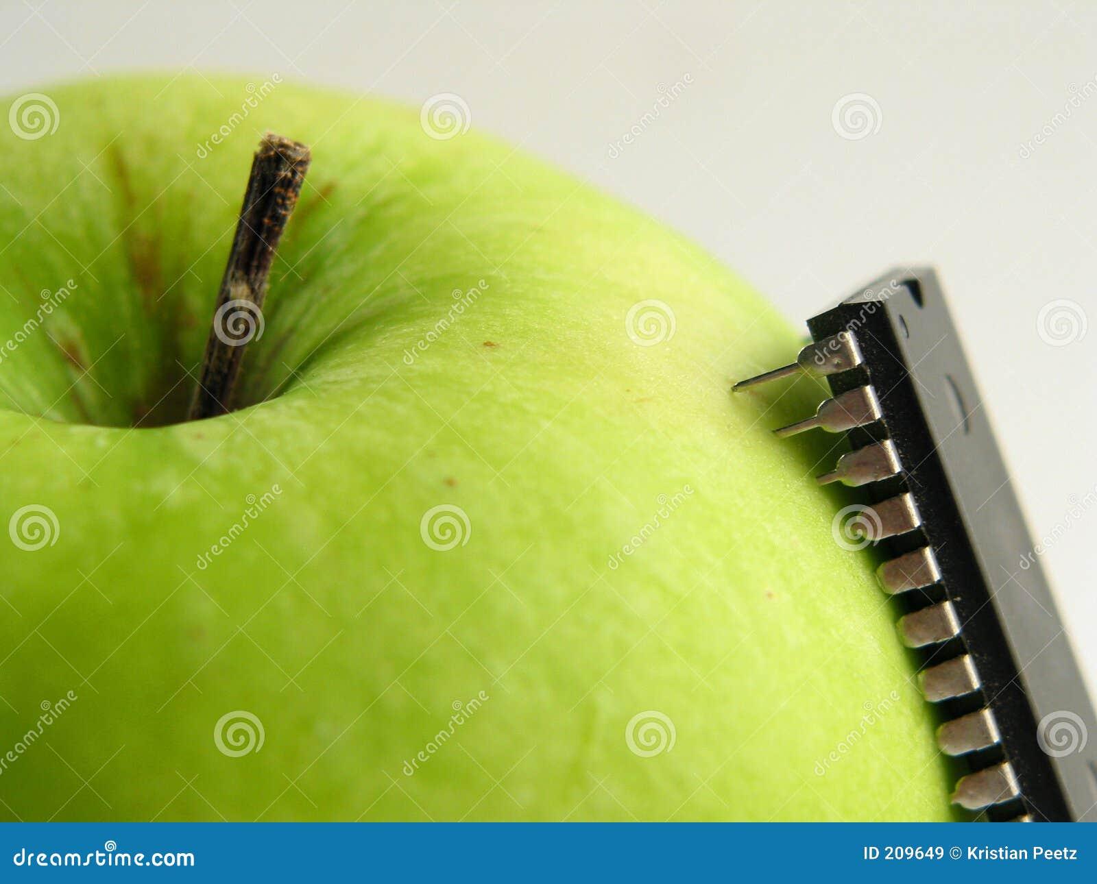 Green för äppleattackchip