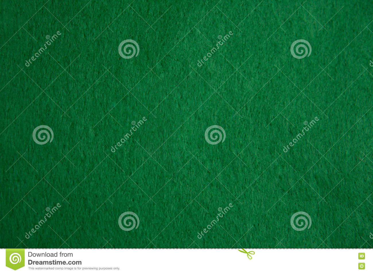 Green Felt Texture Royalty Free Stock Photography