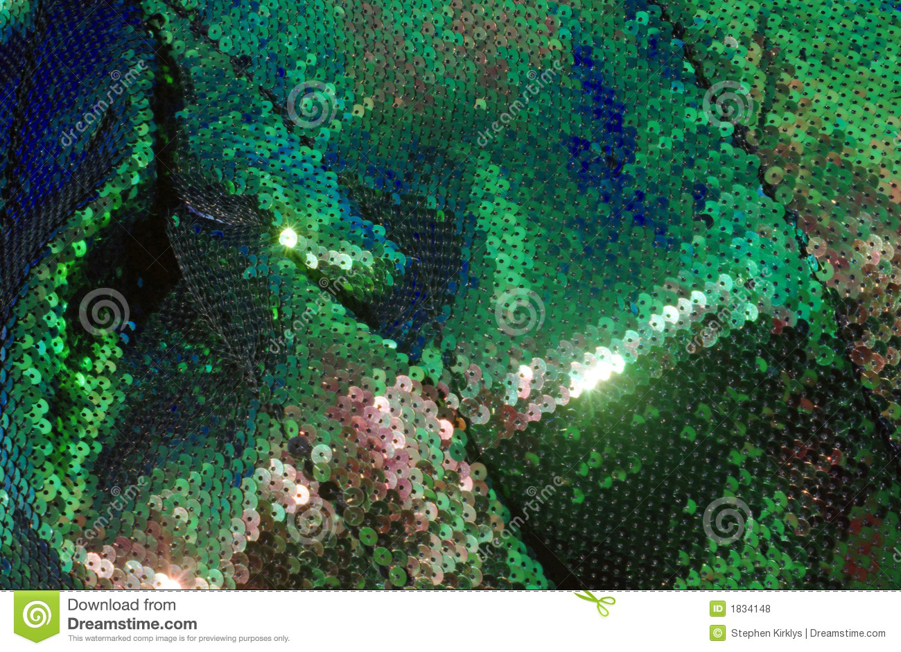 Green fish scale fabric 06 stock photo image of cloth for Fish scale fabric