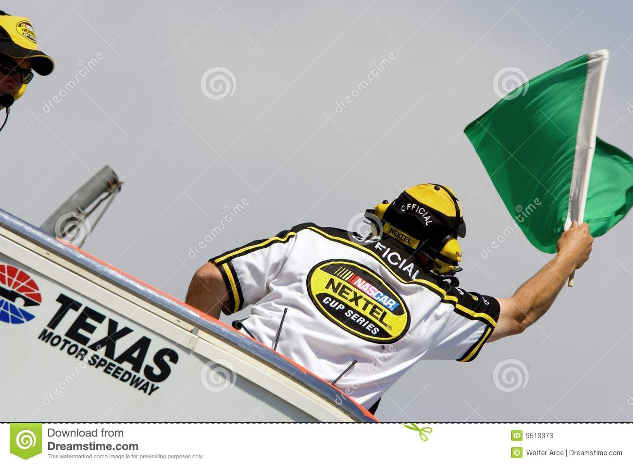 Green Flag At Texas Motor Speedway Editorial Stock Photo