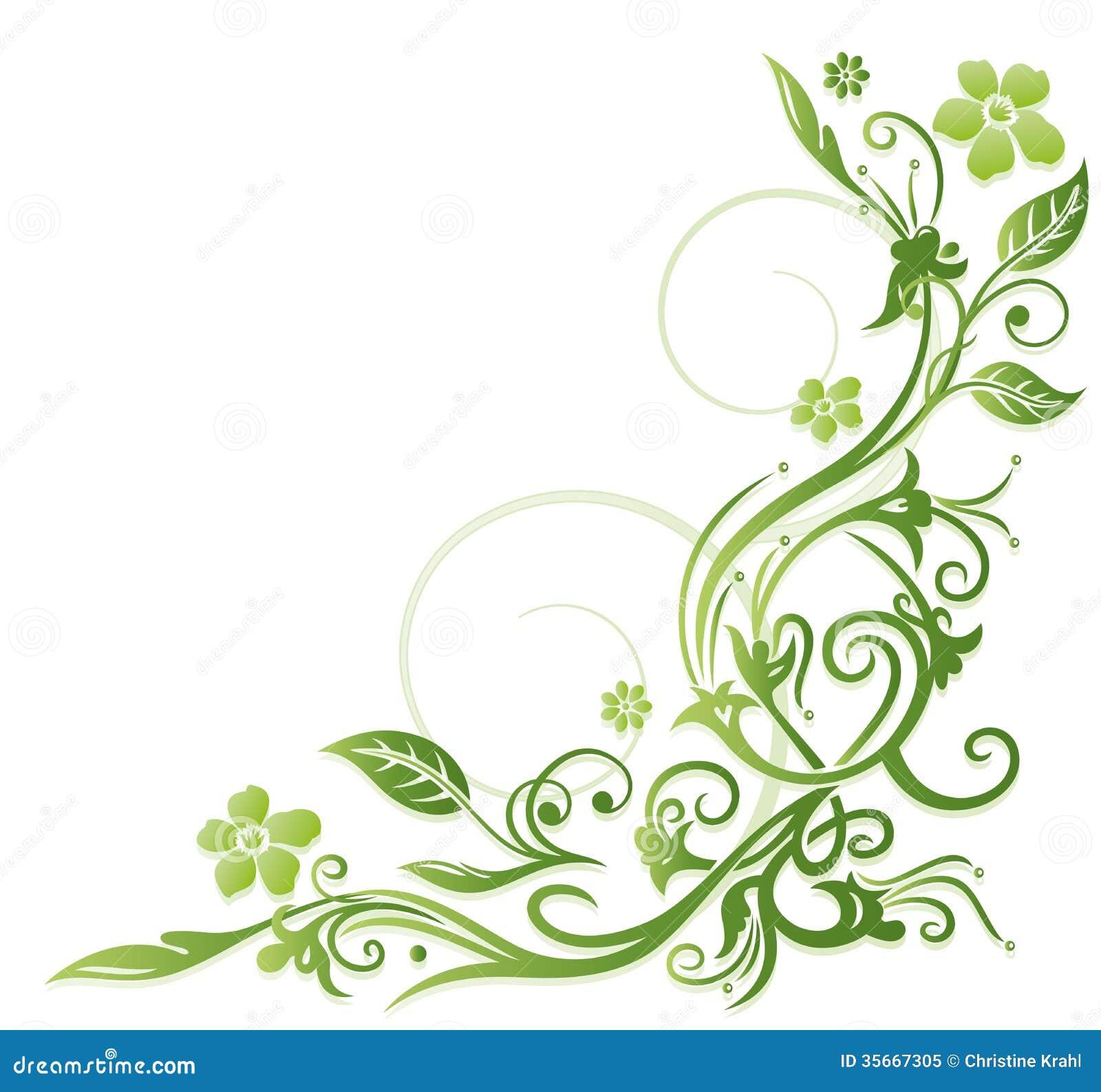 Flores verdes