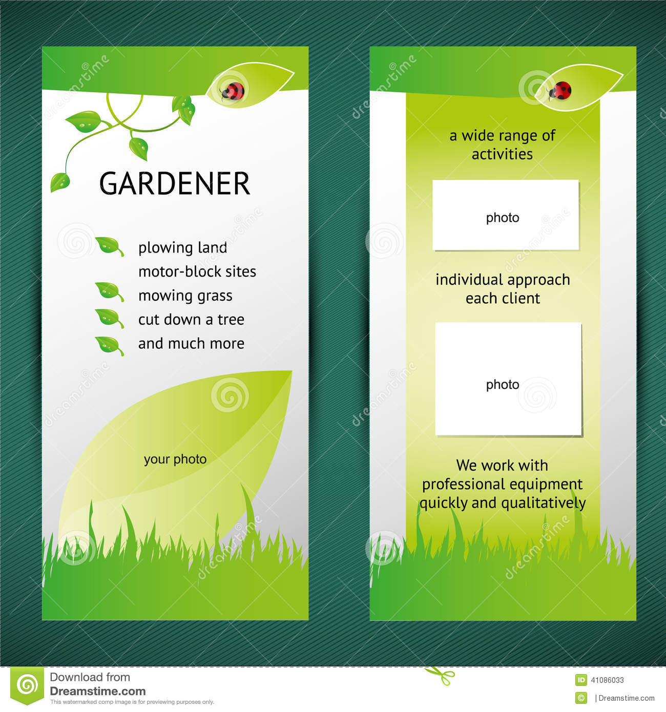two fold brochure templates free download - green flyer stock illustration illustration of flyer
