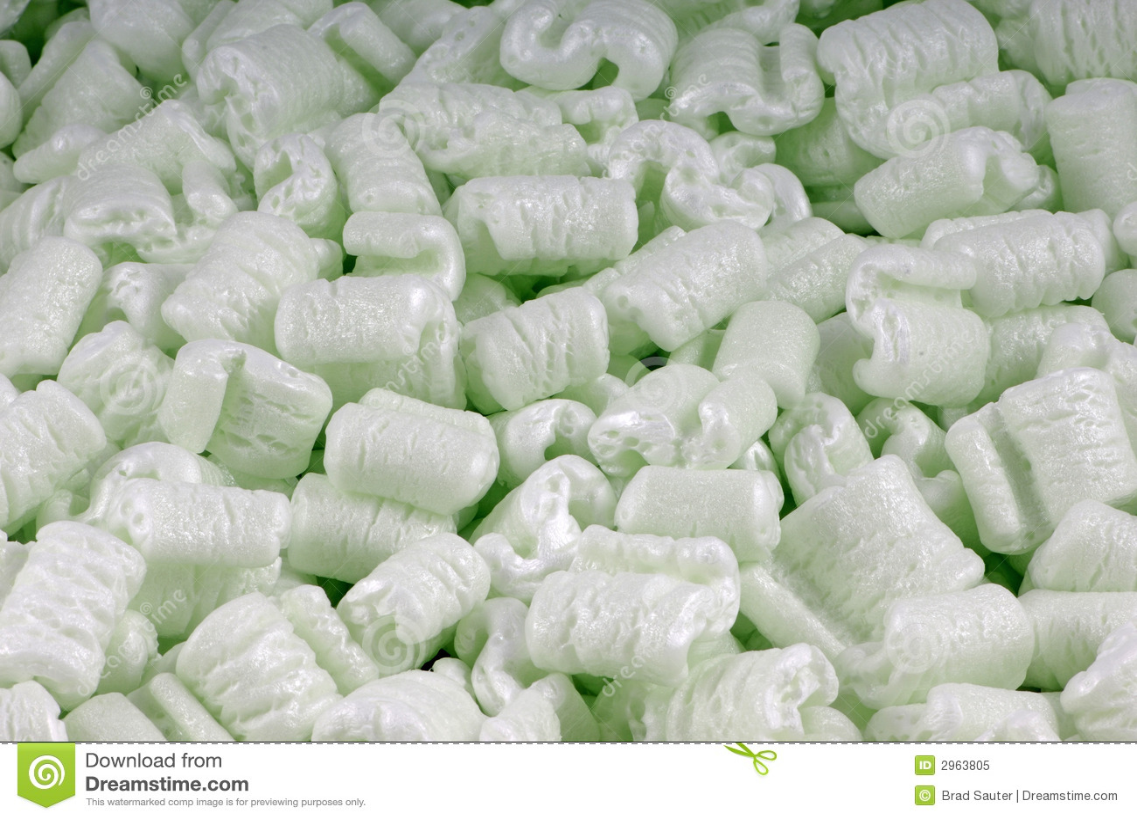 green foam peanuts stock image  image of dampen  material