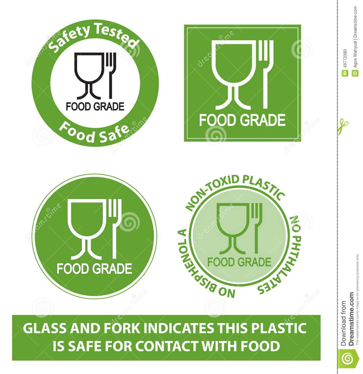Green food grade plastic symbol isolated stock illustration green food grade plastic symbol isolated biocorpaavc Images