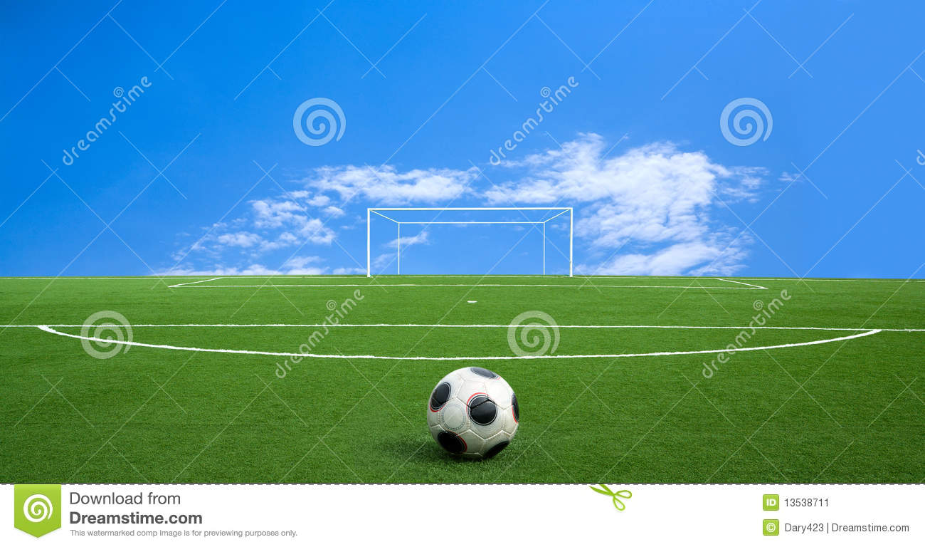 green football stock image  image of conservation  park
