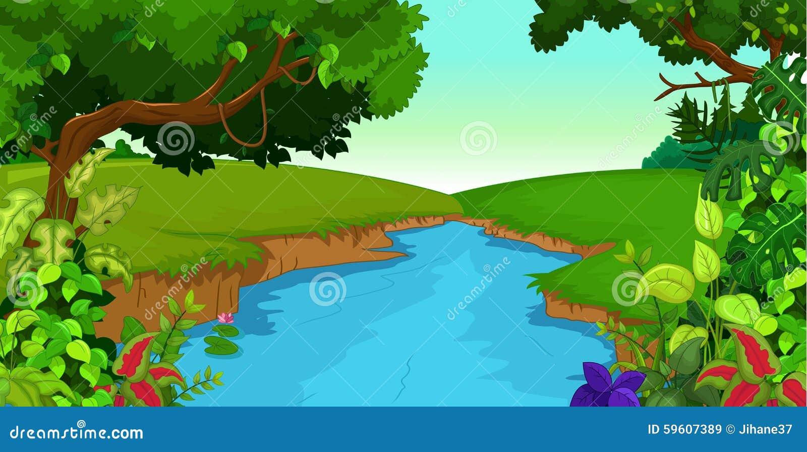 winding river stock illustrations 128 winding river stock rh dreamstime com clip art river clipart riverboats