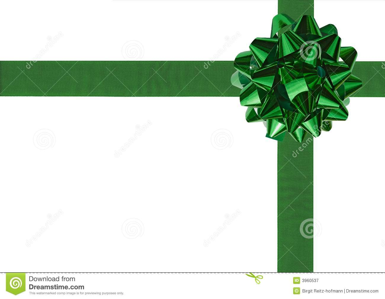 Green gift wrapping bow and ribbon stock image image of green gift wrapping bow and ribbon negle Image collections