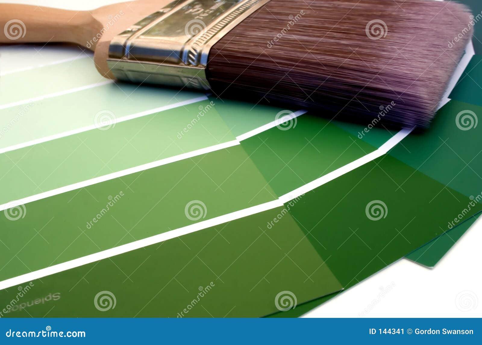 Green glansen