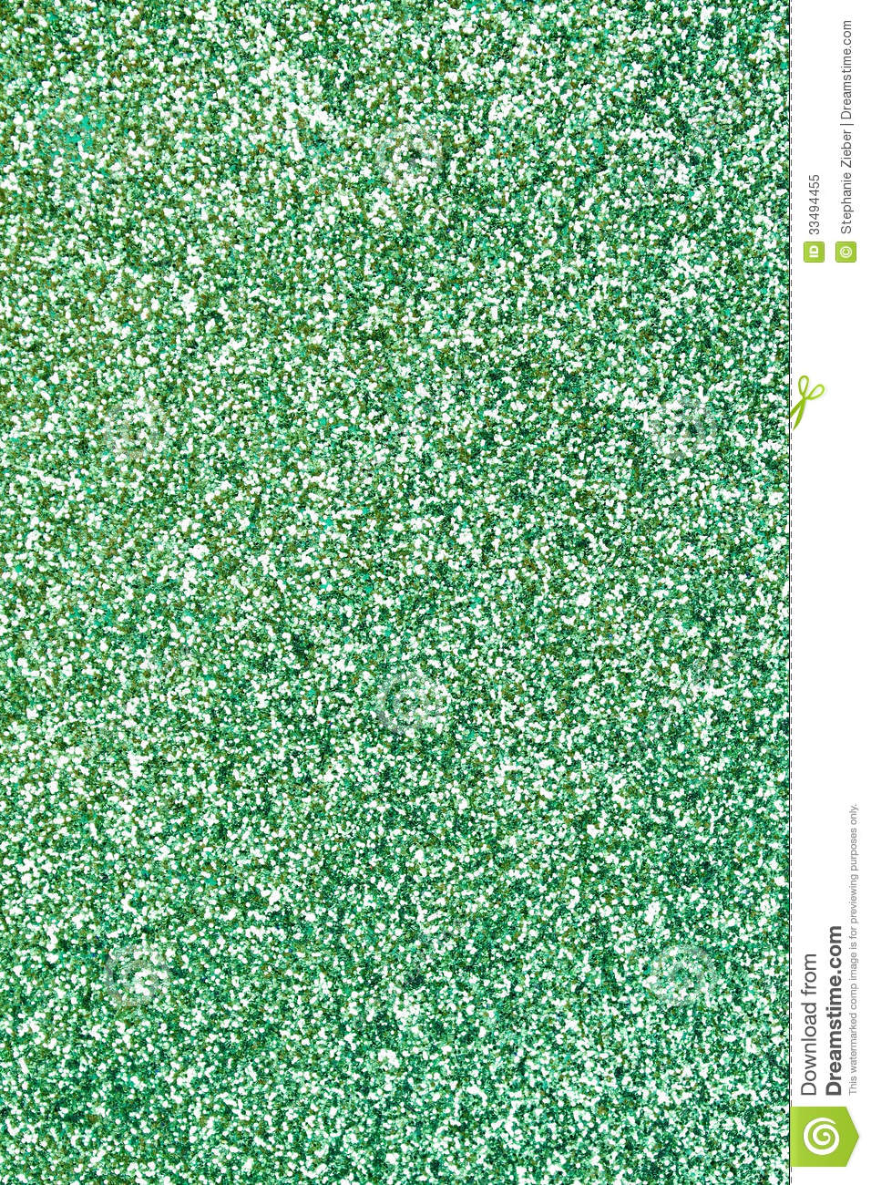 Green Glitter Background Stock Image Of Backdrop