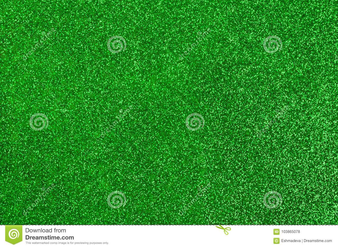 Green glitter texture and background