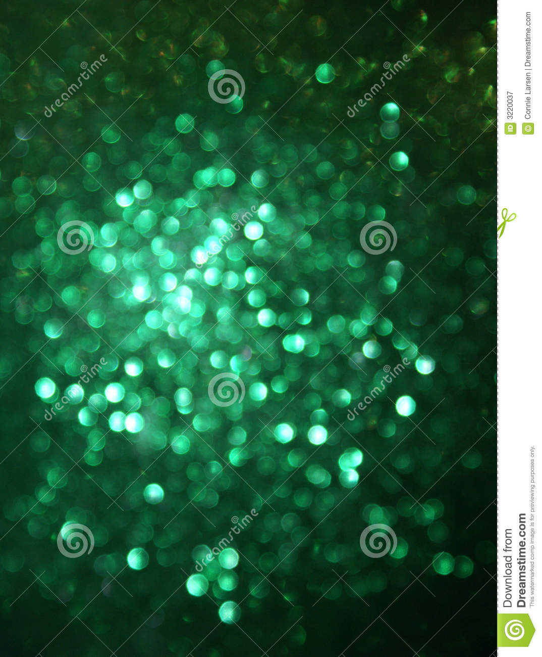 green glittery blur background royalty free stock