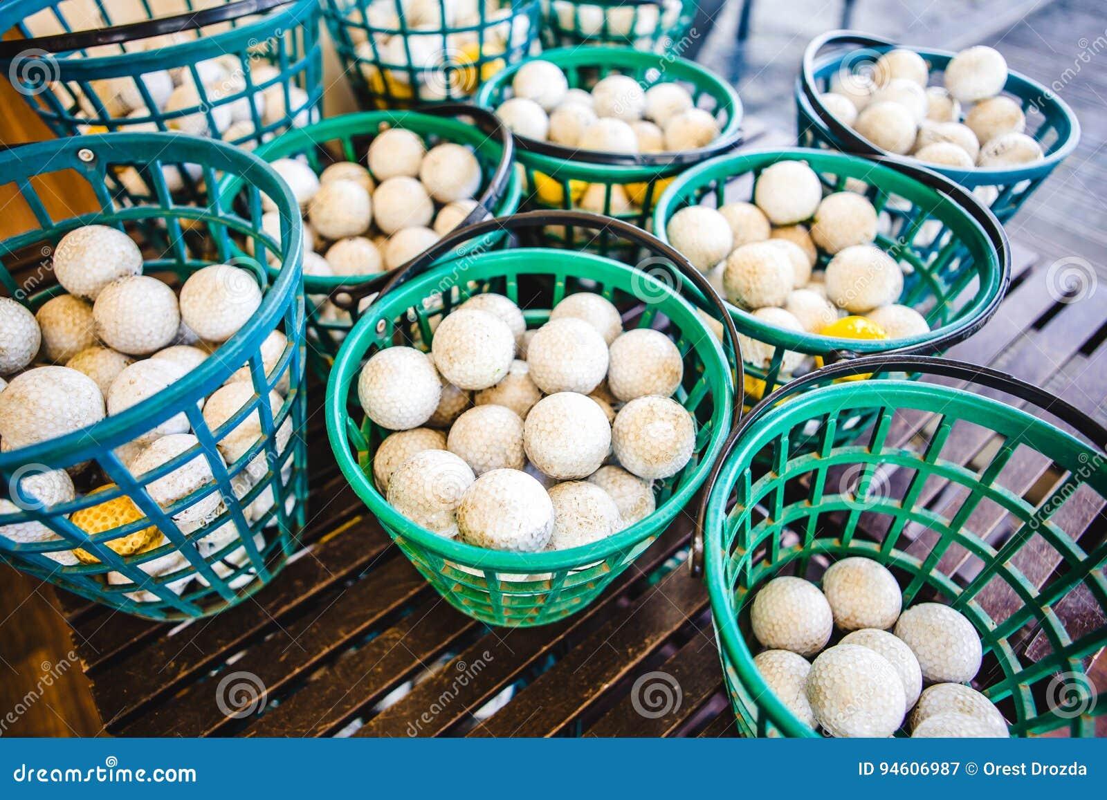 Green Golf Course Series - Ball basket
