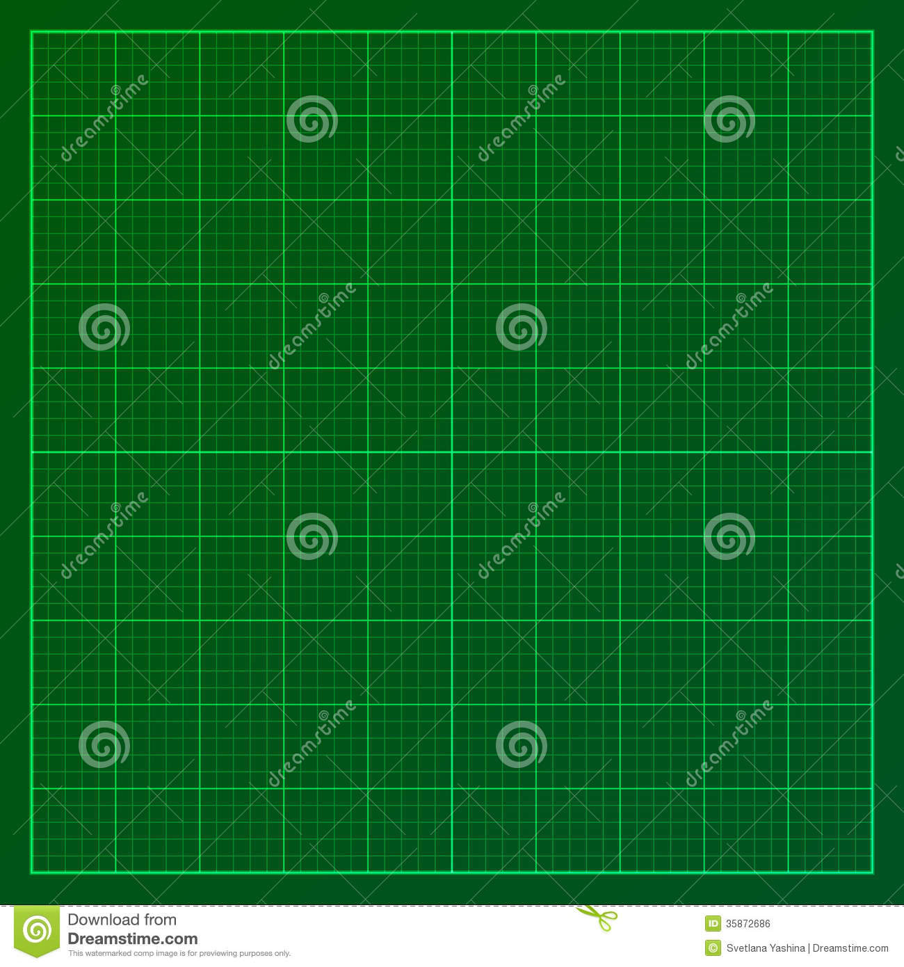 green graph paper stock vector illustration of industry 35872686