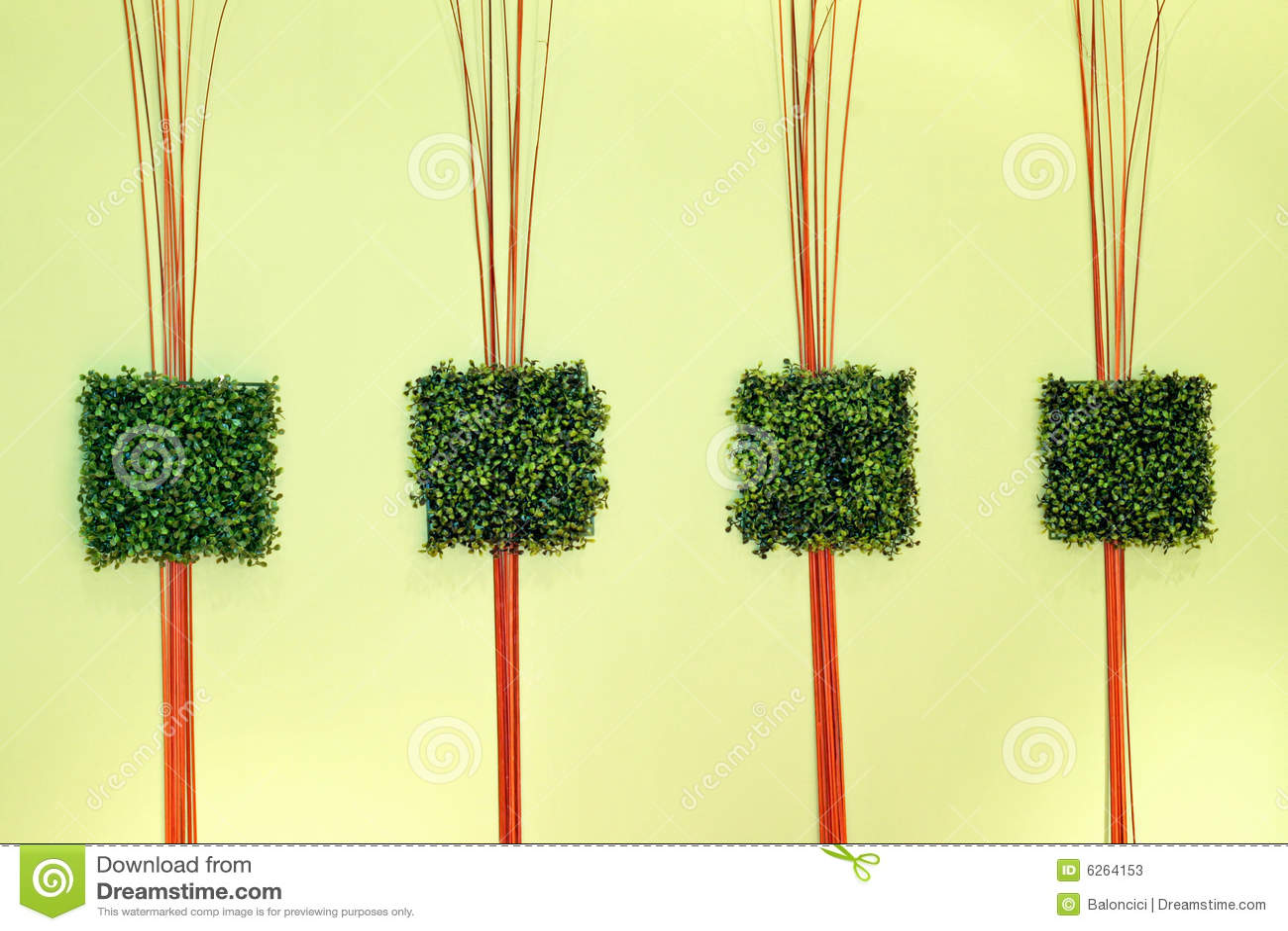 Green grass decor stock image. Image of style, interior ...