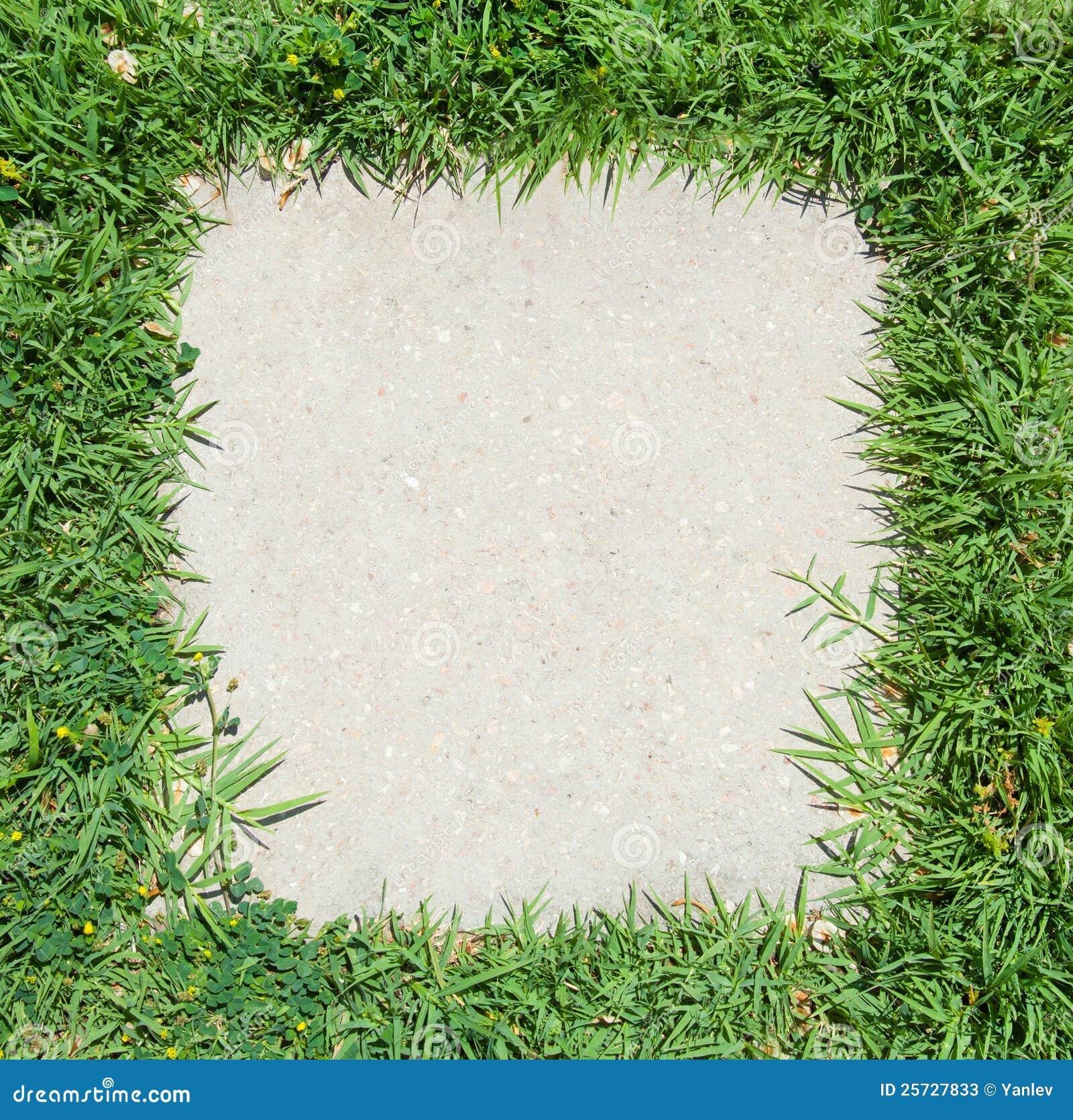 Green Grass frame stock image. Image of farmland, health - 25727833